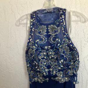 RACHEL ALLAN EXCLUSIVE MIDRIFF BARING FORMAL DRESS